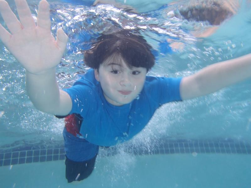 Basic step to learn swimming